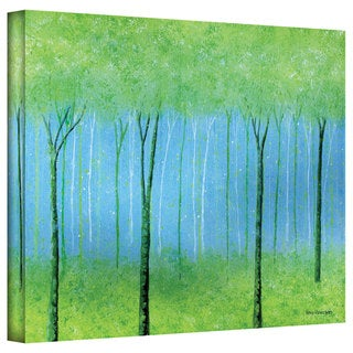 Herb Dickinson 'Peaceful Place' Gallery Wrapped Canvas