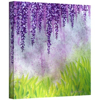 Herb Dickinson 'Mellow Morning' Gallery Wrapped Canvas
