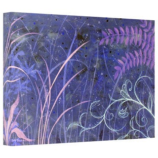Herb Dickinson 'Mystical Blue' Gallery Wrapped Canvas