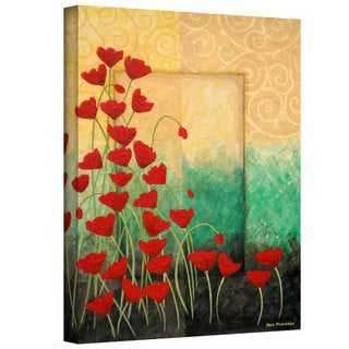 Herb Dickinson 'Poppi's Poppies' Gallery Wrapped Canvas