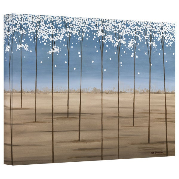 Herb Dickinson 'Spring Dream' Gallery Wrapped Canvas
