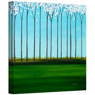 Herb Dickinson 'Happy Forest' Gallery Wrapped Canvas