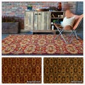 Mandara Hand-tufted Abstract Area Rug (5' x 7'6)