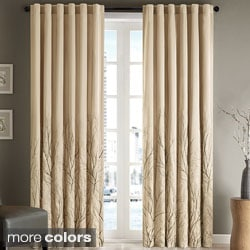 Madison Park Eliza Faux Silk 84-inch Curtain Panel