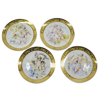4-piece 9.5-inch Angels Plates