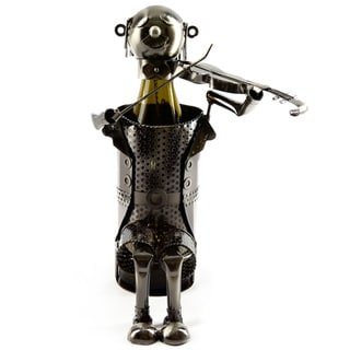 Wine Bottle Holder Violinist Wine Caddy