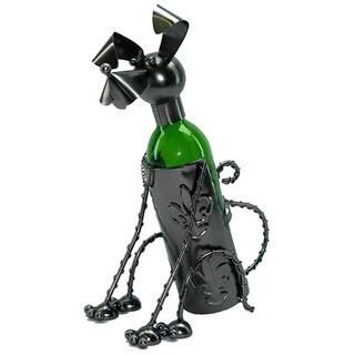 Sitting Dog Wine Bottle Holder