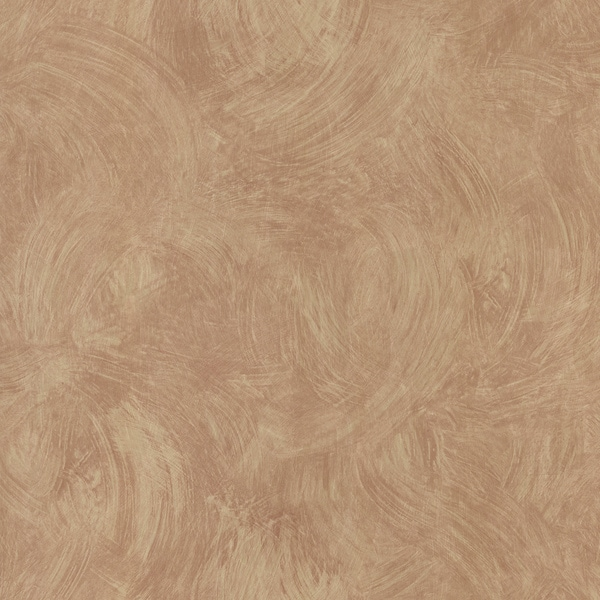 Light Brown Plaster Swirl Wallpaper
