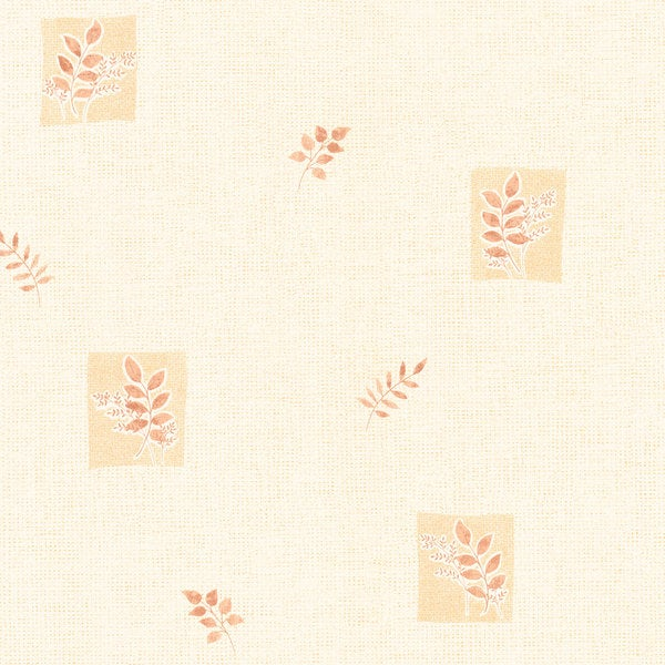 Neutral Leaves Wallpaper