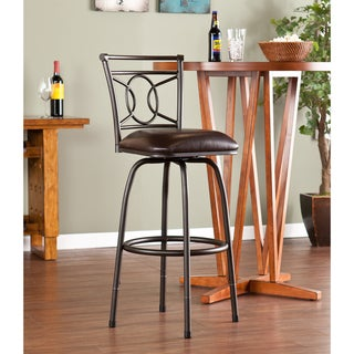 Lyndon Adjustable Swivel Counter/ Bar Stool