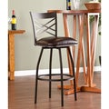 Upton Home Avella Adjustable Swivel Counter/ Bar Stool