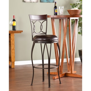 Upton Home Bancroft Swivel Bar Stool