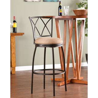 Bratton Adjustable Swivel Counter/ Bar Stool