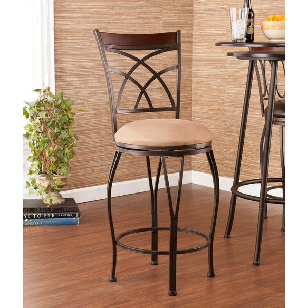 Upton Home Riverton Swivel Counter Stool 15478560