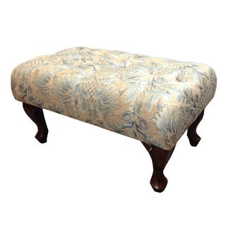 Classic Button-tufted Bench Ottoman