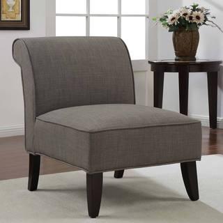 Sadie Slipper Brown Derby Accent Chair