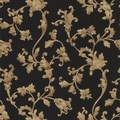 Brewster Home Fashions Black Scrolls Wallpaper
