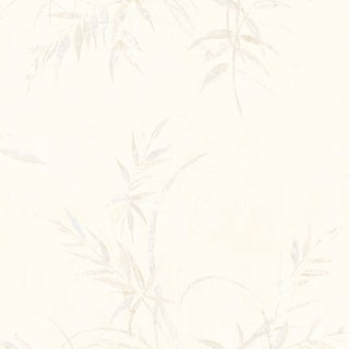 Brewster Home Fashions White Bamboo Branches Wallpaper