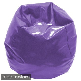 Medium/ Pre-teen Sparkle Vinyl Bean Bag