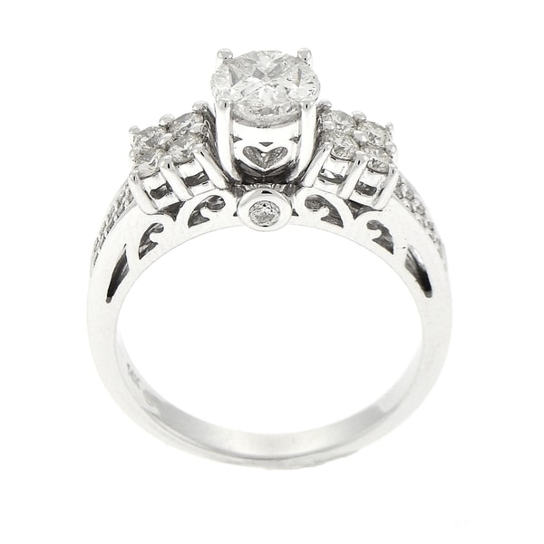 Beverly Hills Charm 14k Gold 1ct TDW Diamond Engagement Ring (H-I, SI1-SI2)