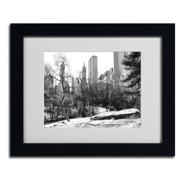 CATeyes 'Central Park' Framed Matted Art