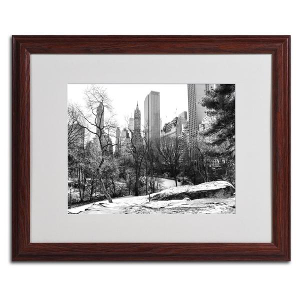 CATeyes 'Central Park' Framed Matted Wall Art