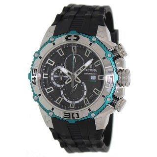 Festina Men's 'Tour De France' Black Dial Chronograph Watch