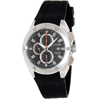 Citizen Men's Eco-Drive Tiitanium Case Black Watch