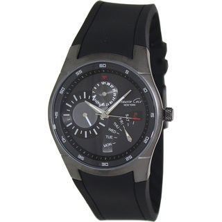 Kenneth Cole Men's Black Dial Date Watch
