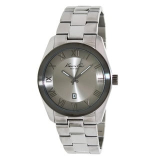 Kenneth Cole Men's Silvertone Stainless Steel Watch