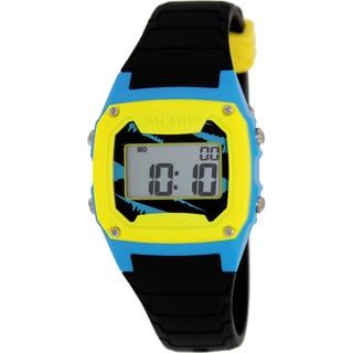 FreeStyle Men's Shark 102001 Black Silicone Quartz Watch with Digital Dial