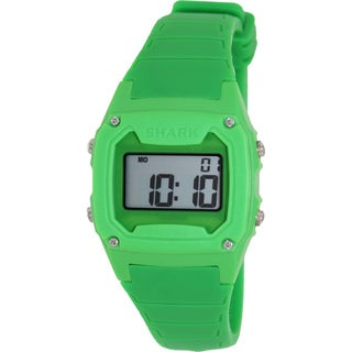 FreeStyle Men's Shark 102002 Green Silicone Quartz Watch with Digital Dial