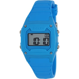 FreeStyle Men's Shark 102003 Blue Silicone Quartz Watch with Digital Dial