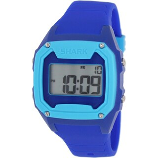 Freestyle Men's Killer Shark Blue Silicone Digital Dial Quartz Watch