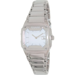 FreeStyle Women's Shark Silver Stainless-Steel Analog White Dial Quartz Watch