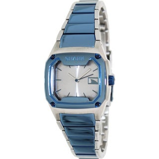 FreeStyle Women's Shark Two-Tone Stainless Steel Analog Silver Dial Quartz Watch