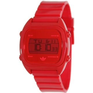 Adidas Men's 'Sydney' Red Digital Watch