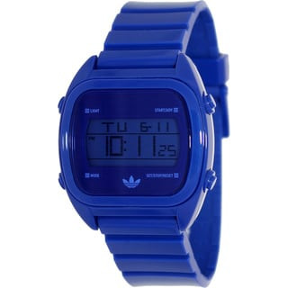 Adidas Men's 'Sydney' Blue Digital Watch