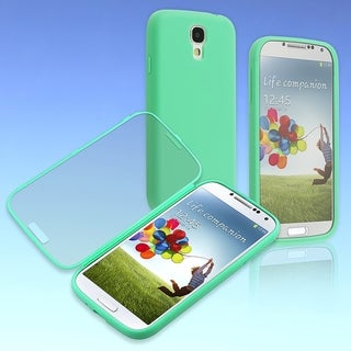 BasAcc Teal/ Clear Frosted Cover Book TPU Case for Samsung� Galaxy S4