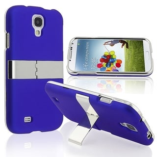 BasAcc Blue With Chrome Stand Case for Samsung� Galaxy S IV/ S4