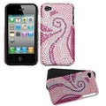 BasAcc Phoenix Tail Diamante Fusion Case for Apple iPhone 4S/ 4