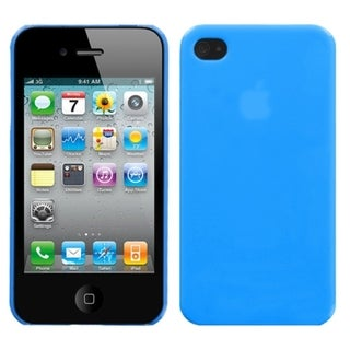 INSTEN Natural Turquoise Phone Back Phone Case Cover for Apple iPhone 4S/ 4