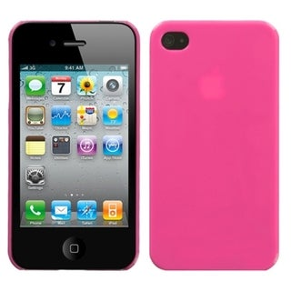 BasAcc Natural Pink Phone Back Case for Apple iPhone 4S/ 4