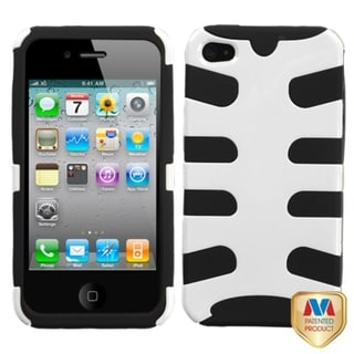 BasAcc Ivory White Fishbone Phone Case for Apple iPhone 4S/ 4