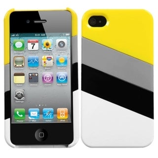 INSTEN MyColor Splash Phone Case Cover for Apple iPhone 4S/ 4