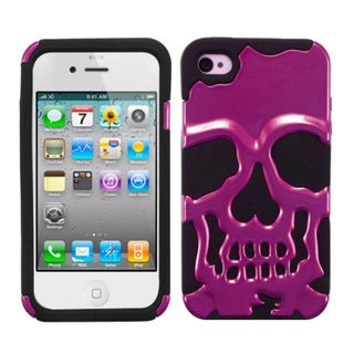 BasAcc Skullcap Hybrid Case for Apple iPhone 4S/ 4
