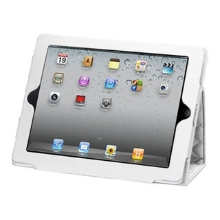 BasAcc Quilted Luxury White MyJacket Case for Apple iPad 1/ 2/ 4