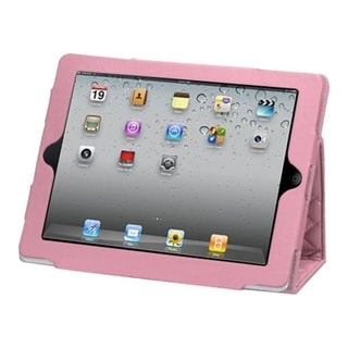 BasAcc Quilted Luxury Pink MyJacket Case for Apple iPad 1/ 2/ 4