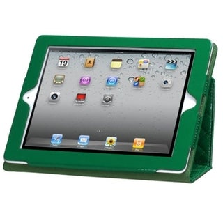 BasAcc Dark Green/ Quilted MyJacket Case for Apple iPad 1/ 2/ 4