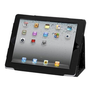 BasAcc Quilted Black MyJacket Case for Apple iPad 1/ 2/ 4